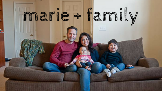 marie and family